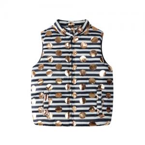 BQT – SS18030 – Foil Dot Puff Vest