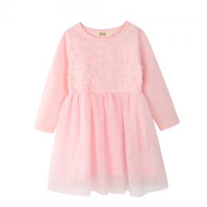 BQT – SS18040 – 3D Flower Dress