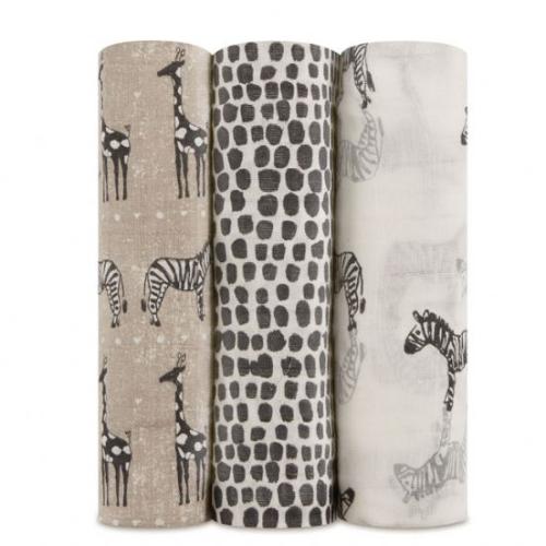 ADEN+ANAIS – Silky Soft Swaddles – Sahara Motif