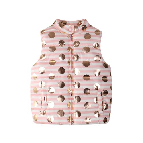 Funky Babe  – SS18110 – Foil Sots Puffer Vest