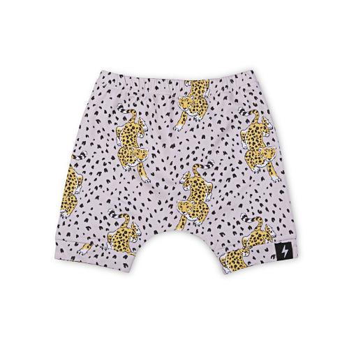 KAPOW – Leopard Harem Shorts