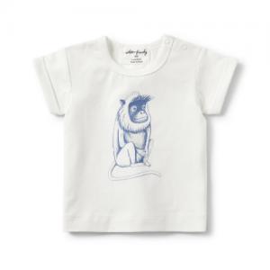 Wilson&Frenchy – Monkey Rolled Cuff Tee