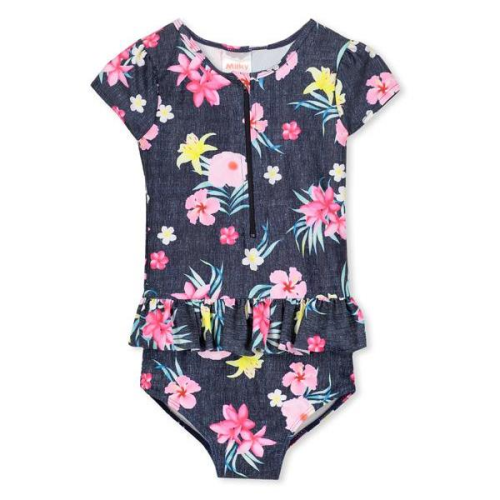 Milky – Tropical Frill Swimsuit