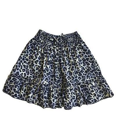 WILD BLOSSOM – Mini Skirt Leopard