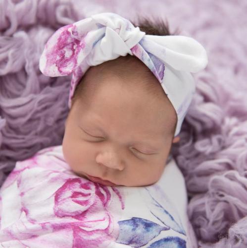 SNUGGLE HUNNY – Lilac Skies Topknot Headband