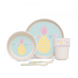 Penny Scallan – Bamboo Meal Set Pineapple Bunting