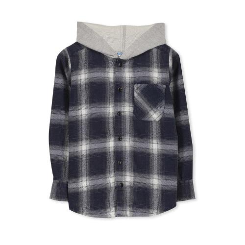 MILKY – 318W04B – Blue Check Shirt