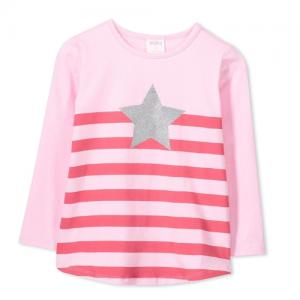 MILKY – 418W65 – Star Strip Tee