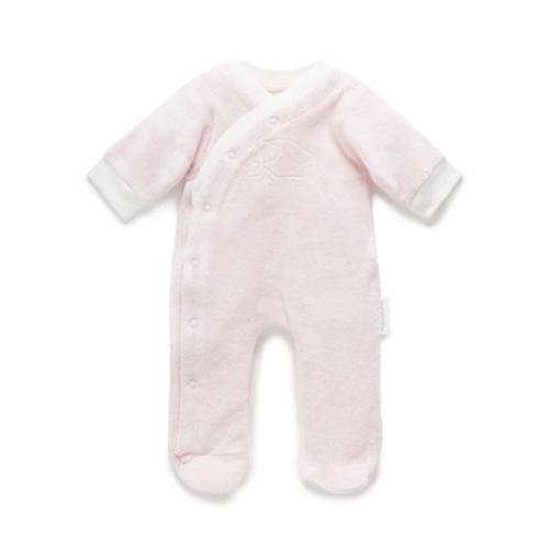 Pure Baby – Premmie Velour Grow Suit