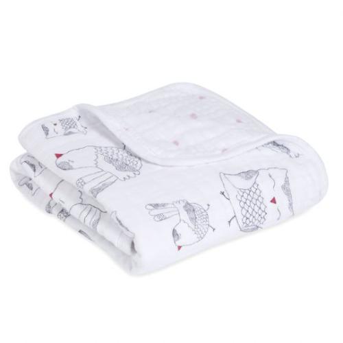 ADEN+ANAIS – Stroller Blanket – Love Bird