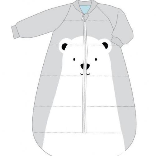 BABY STUDIO – Studio Bag With Arms Fleece 3.0 TOG POLAR BEAR