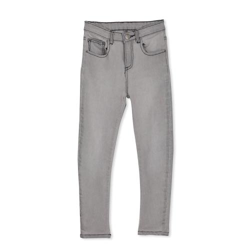 MILKY – 118W19 – Grey Stitch Denim Jean