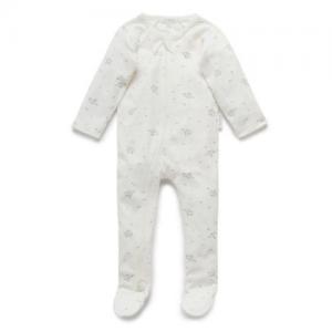Pure Baby – Zip Growsuit – little elephant