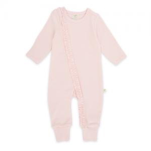 Tiny Twig – Zip Suit Pink Stripe