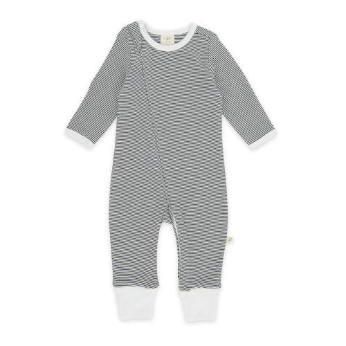 Tiny Twig – Zip Suit Graphite Stripes