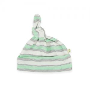 Tiny Twig – Knot Beanie – Cedar Stripes