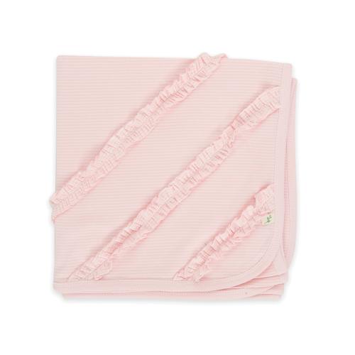 Tiny Twig – Bunny Rug – Pink Stripes