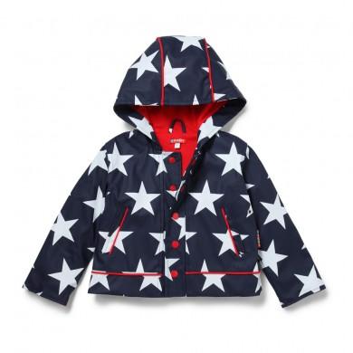 Penny Scallan – Navy Star Raincoat