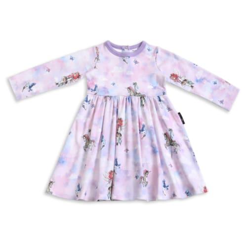 Aster&Oak – Unicorn LS Flare Dress