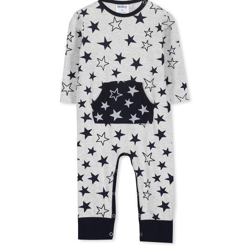 MILKY – 118W40 – Stars Romper