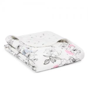 ADEN+ANAIS – Silk soft Stroller Blanket – Meadowlark