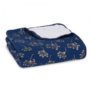 ADEN+ANAIS –  Classic Dream Blanket – Gold Deco