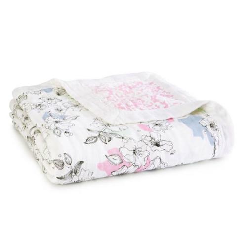 ADEN+ANAIS – Silky Soft Blanket – Meadowlark
