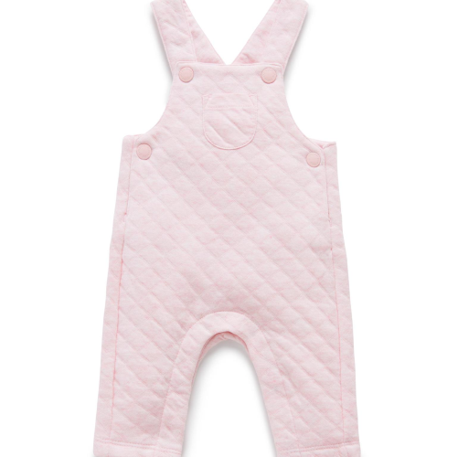 Pure Baby – Quilted Overalls