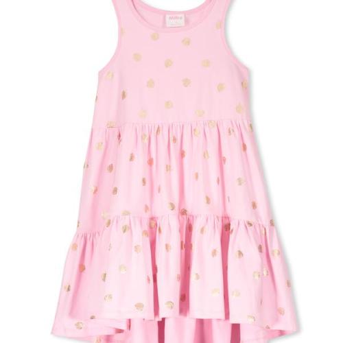 Milky – Foil Leaf Dress