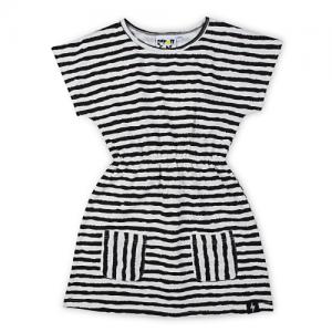 KAPOW – Brushed Lines Pocket Dress