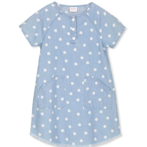 Milky – Chambray Spot Dress