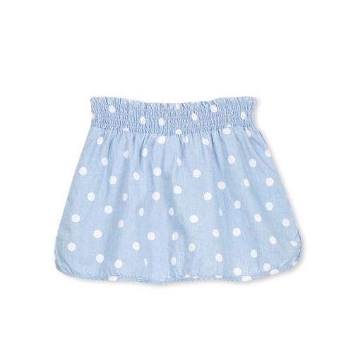 Milky – Chambray Spot Skirt