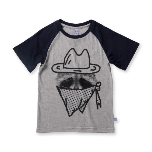 LITTLE HORN – Racoon Cowboy Tee