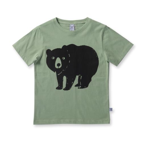 LITTLE HORN – Bear Stamp  Tee