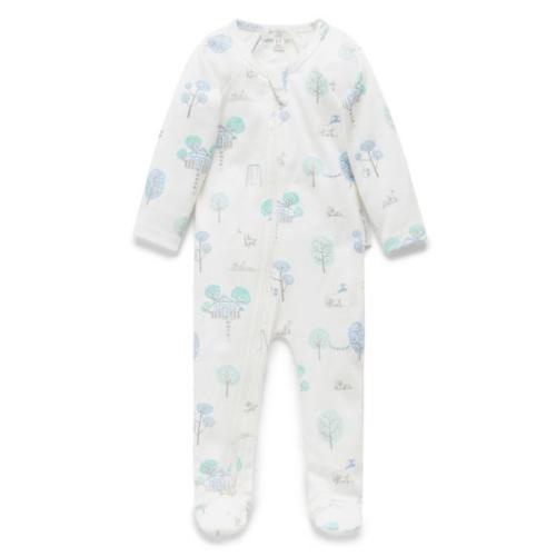 Pure Baby – Zip Growsuit – Back yard Explorer