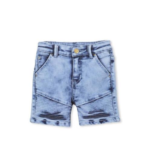 Milky – Knit denim Shorts