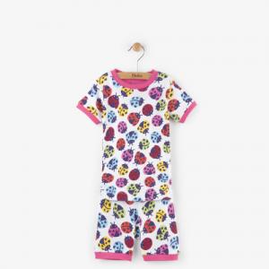 HATLEY – Rainbow Ladybirds Short PJ Set