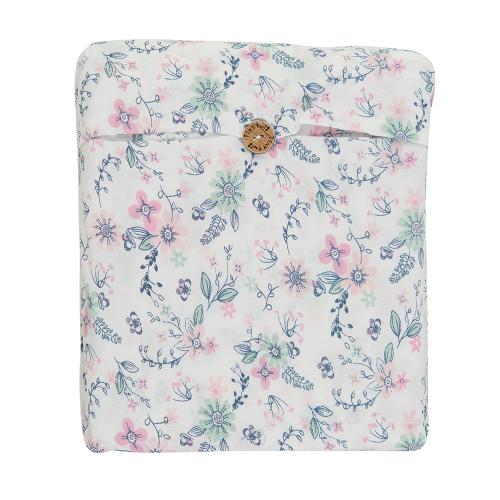 Tiny Twig – Bassinet Fitted Sheet Set – Pretty Petals