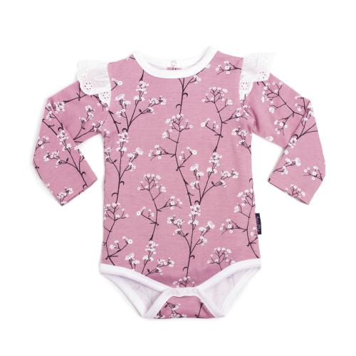 ASTER&OAK – Baby's Breathe AOP Flutter Onesie