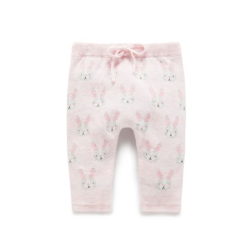 Pure Baby – Bunny Knit Legging