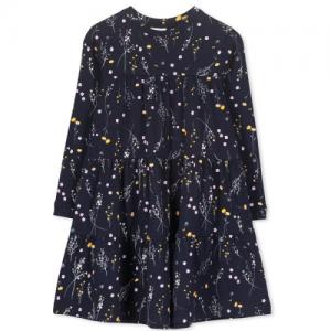 MILKY – Winter Floral Dress