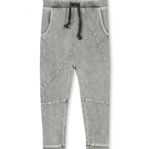 MILKY – Grey Garment Dyed Track Pant