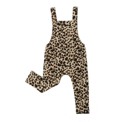 KAPOW – Leopard Print Overalls – Baby
