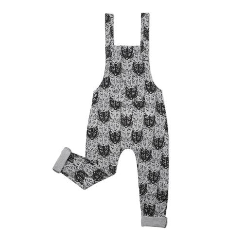 KAPOW – Wolf Camo Overalls – Baby