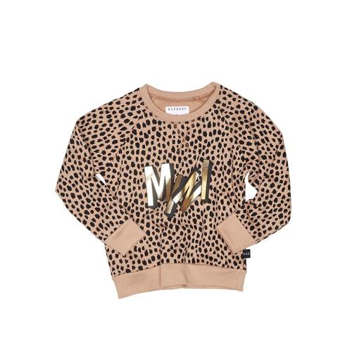 HUXBABY – Mini Leopard Sweatshirt