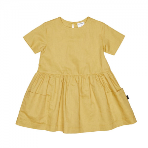 HUXBABY – Mustard Darcy Dress