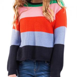 EVE GIRL – Rainbow Knit