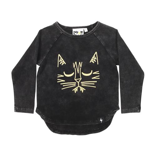 KAPOW – Tiger Placement LS TShirt
