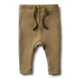 Wilson&Frenchy – Olive Rib Legging