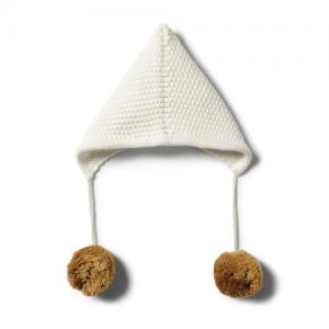 Wilson&Frenchy – Ecru knitted Bonnet